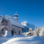 Lauterseekapelle im Winter