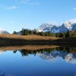 Spiegelung der Berge