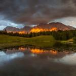 Alpenglühen am Wildensee