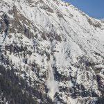 Lawine am Karwendel