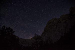 Der Sternenhimmel im Karwendel