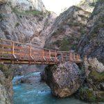 Neue Brücke in der Gleirschklamm