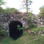Mauerreste der Porta Claudia