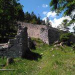Mauern der Porta Claudia
