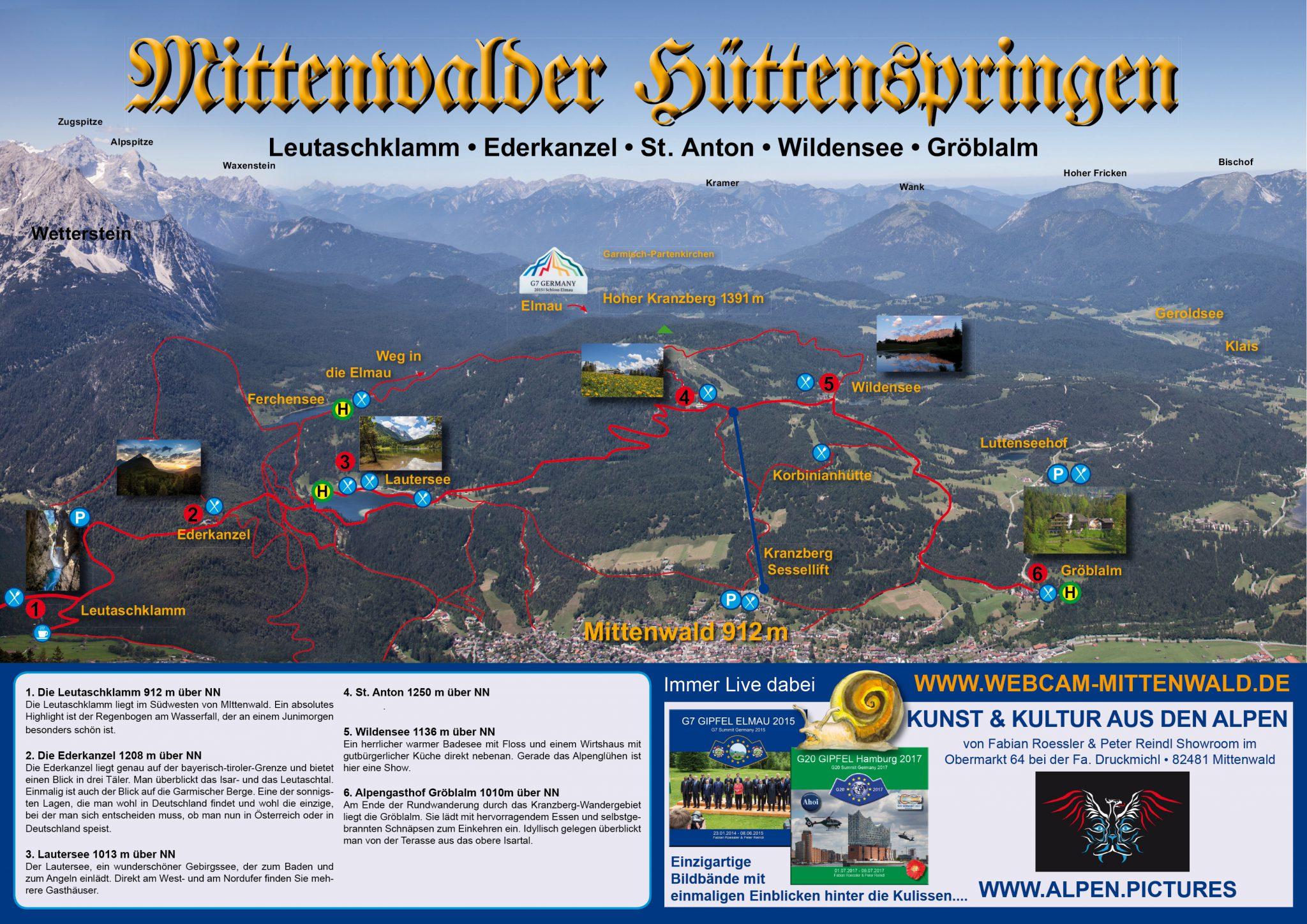 Hüttenspringen am Kranzberg