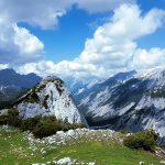 Gipfelgrat am Sunntiger. Rechts geht es 1000m bergab