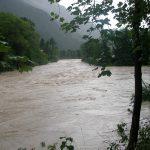 Hochwasser an der Isar