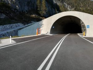 Der Portaclaudia Tunnel in Scharnitz