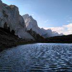 Bergsee am Überschalljoch