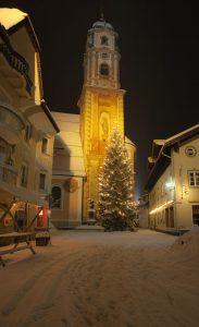 Weihnachtlicher Mittenwalder Obermarkt