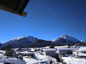 Verschneites Mittenwald