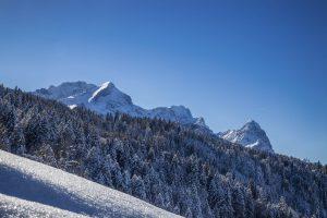 Alpspitze Zugspitze und Waxenstein